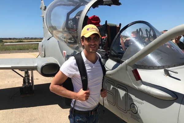 Stefano Checcarelli istruttore scuola di volo Fly Felix